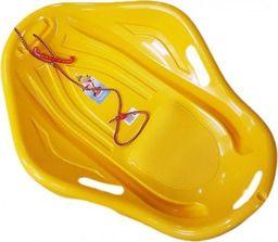 Marmat Sanki plastikowe muszla żółta + sznurek UNIWERSALNY