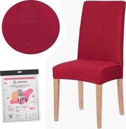 Springos Pokrowiec na krzesło uniwersalny czerwony UNIWERSALNY