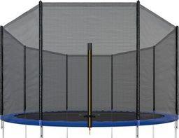 SPRINGOS Siatka zewnętrzna do trampoliny 305 cm 10ft 8 słupków UNIWERSALNY