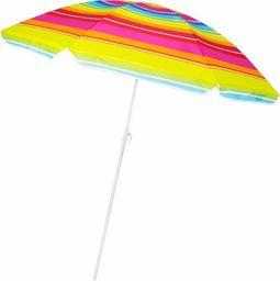 Springos Parasol plażowy ogrodowy 160 cm multikolor UNIWERSALNY