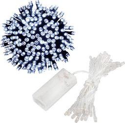Lampki choinkowe SPRINGOS Lampki dekoracyjne 10 LED biały zimny na baterie UNIWERSALNY