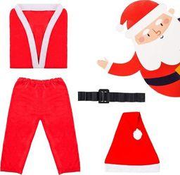 Springos Strój Świętego Mikołaja dla dzieci 4-6 lat UNIWERSALNY