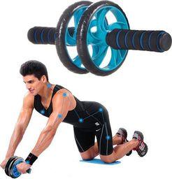 SPRINGOS Roller do ćwiczeń niebieski
