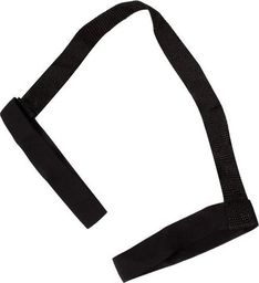 SPRINGOS Pasek do maty do jogi uchwyt do noszenia na ramię czarny UNIWERSALNY
