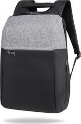 """Plecak R-BAG Plecak męski na laptopa 13-15,6"""" z USB Fort grey"""