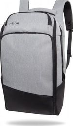 Plecak R-BAG Plecak męski na laptopa 13-15,6'' z USB Forge Grey