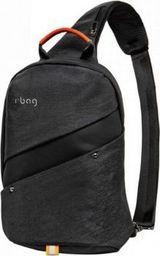 Plecak R-BAG Plecak męski na tablet z USB Slim Black rBAG luksusowy