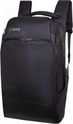 """Plecak R-BAG Plecak rBAG męski na laptop 13-15,6"""" z USB Forge Black"""