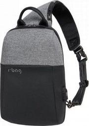 Plecak R-BAG Plecak męski na tablet z USB Magnet Grey rBAG luksusowy