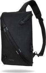 Plecak R-BAG Plecak męski na jedno ramię z USB Depo Black