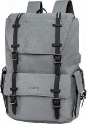 Plecak R-BAG PLECAK MĘSKI LUKSUSOWY BIZNESOWY rBAG NA LAPTOP 15'