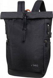 Plecak R-BAG Plecak rBAG męski z USB Roll black