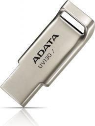 Pendrive ADATA DashDrive UV130 32GB USB2.0 Gold Alu (AUV130-32G-RGD)