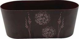 Tajemniczy ogród Osłonka owalna bukiet ciemny bordo uniwersalny