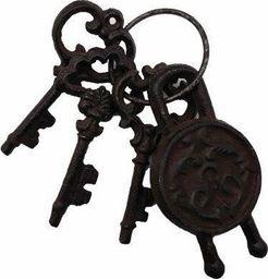 Tajemniczy ogród Dekoracja pęk kluczy z kłódką uniwersalny