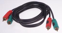 Kabel Libox RCA (Cinch) - RCA (Cinch), 3, Czarny (LB0020)