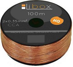 Przewód Libox głośnikowy 2x0,35