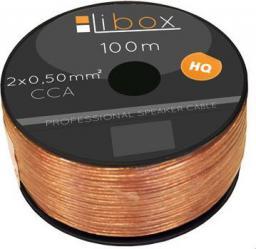 Przewód Libox głośnikowy 2x0,50