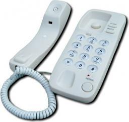 Telefon przewodowy Mescomp Diana beż