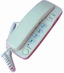 Telefon przewodowy Mescomp DIANA MT-518 granatowy