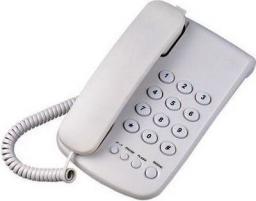 Telefon przewodowy Mescomp Leon beż  (MT-508)