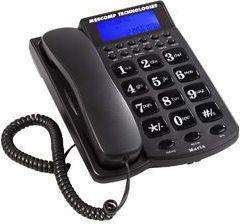 Telefon przewodowy Mescomp Maria grafit (MT 512)