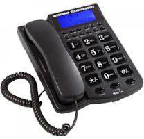Telefon przewodowy Mescomp Maria MT-512 Szary
