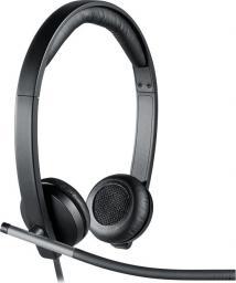 Słuchawki z mikrofonem Logitech H650E Dual (981-000519)