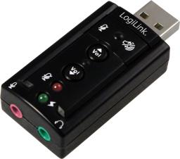 Karta dźwiękowa LogiLink 7.1 Sound Effect, USB (UA0078)