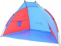 Royokamp  Namiot Osłona Plażowa Sun Niebiesko-Czerwona Royokamp uniwersalny