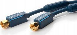 Clicktronic Kabel antenowy SAT gniazdo F ekranowany HQ 3 m
