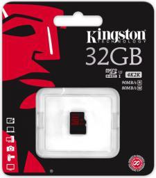 Karta MicroSD Kingston Kingston 32GB (SDCA3/32GBSP)