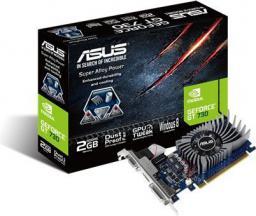 Karta graficzna Asus GeForce GT 730 2GB DDR5 (64 bit) HDMI, DVI, D-Sub (GT730-2GD5-BRK)