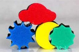 Jovi JOVI Gąbki Stemple do malowania Chmurka -1 sztuka uniw