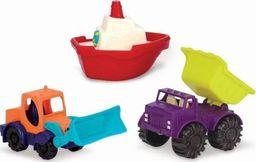 B.Toys Loaders and Floaters Zestaw 3 Mini Pojazdów