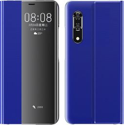 Hurtel New Sleep Case pokrowiec etui z klapką z funkcją podstawki Huawei P30 Pro niebieski uniwersalny