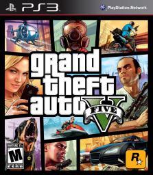 Grand Theft Auto V EN PS3