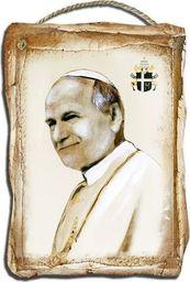 GO-BI Obraz Jan Paweł II Ręcznie Malowany 19x27cm uniwersalny