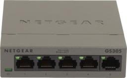Switch NETGEAR GS305 5-Port Gigabit Switch Met (GS305-100PES)
