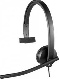 Słuchawki z mikrofonem Logitech H570e Mono USB (981-000571)