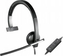 Słuchawki z mikrofonem Logitech USB H650e Mono (981-000514)