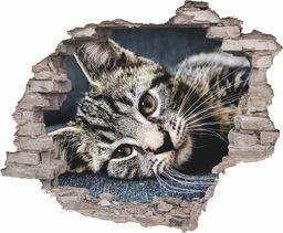 e-druk NAKLEJKI NA ŚCIANĘ 3D CEGŁA Z WIDOKIEM zwierzęta