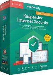 Kaspersky Lab Licencja BOX Kaspersky Internet Security Home&Student - multi-device 1 stanowisko 1 rok