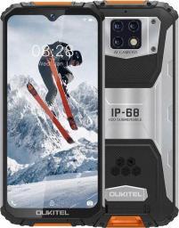 Smartfon Oukitel WP6lite 128 GB Dual SIM Czarno-pomarańczowy  (WP6lite-OE/OL                  )