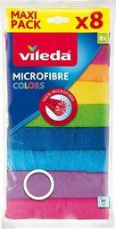 Vileda Ściereczka z mikrofibry kolor 8 szt.