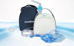 Omnibus Inhalator BR-CN151 PREMIUM - wtyczka UK - praca ciągła - z torbą