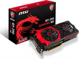 Karta graficzna MSI Radeon R9 390 8GB GDDR5 (512 bit) HDMI, 2x DVI, DP (R9 390 GAMING 8G)