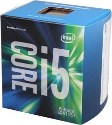 Procesor Intel Core i5-6600K, 3.5GHz, 6 MB, BOX (BX80662I56600K)