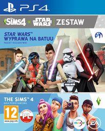 The Sims 4 + The Sims 4 Star Wars : Wyprawa na Batuu (pakiet rozgrywki) PS4 PL