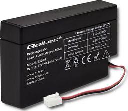 Qoltec Akumulator AGM Qoltec | 12V | 0.8Ah | max.12A